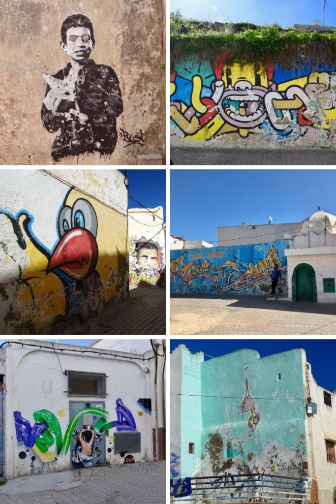 Fading Street Art of Azemmour