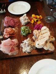 Charcuterie board, Pegasus Bay Restaurant