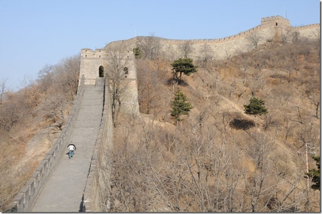 Running on the great wall