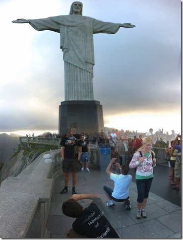 Christ the Redeemer Statue... as a tourst.