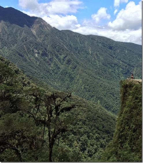 Death Road Cliffs of Bolivia