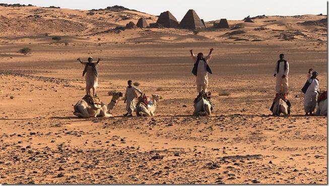 Camel Jockeys of Sudan
