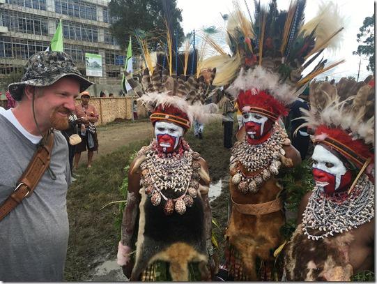 Tribal feather headdresses of papua new guinea mt hagen sing sing