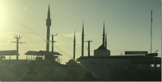 Senegal mosque
