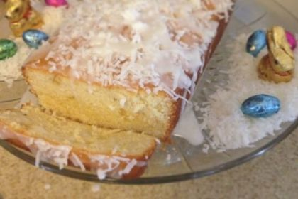 Easter Dessert: Lemon Coconut Pound Cake