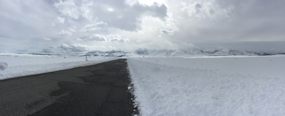 Why you should drive to mammoth