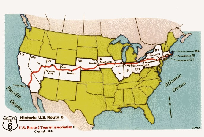 The Best Of The US Two Cross Country Road Trip Itineraries - Us map mojave desert