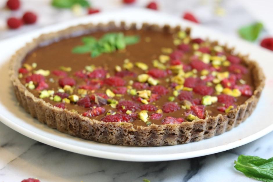 best vegan gluten free tart