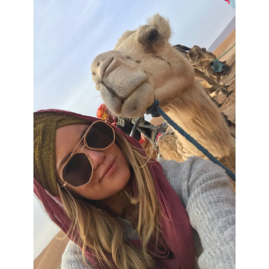 chelsea gilson, willow and blair Morocco trip