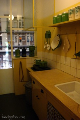 Kitchen from 70's. Amsterdam Museum
