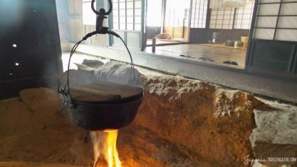Hida-Takayama fireplace