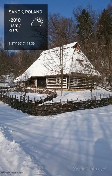 Skansen Sanok winter (11)