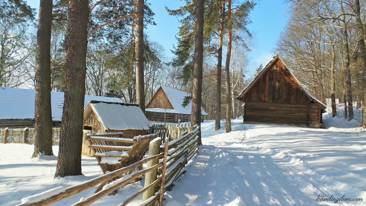 Skansen Sanok winter (76)