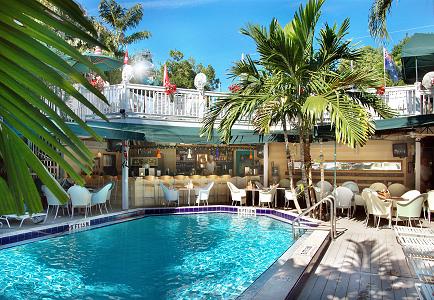 Pool of Island House Key West