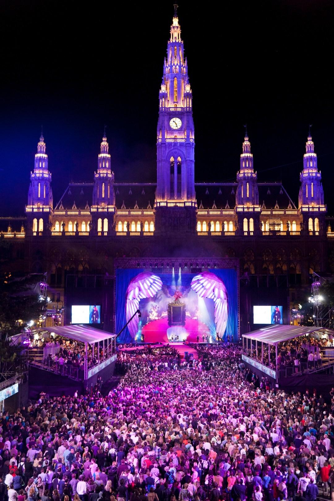 Life Ball in Vienna, Austria