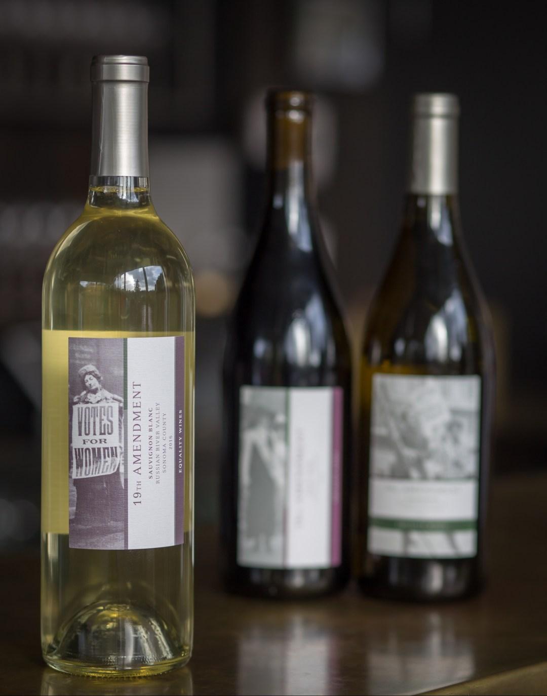 19th Amendment Sauvignon Blanc from Equality Vines