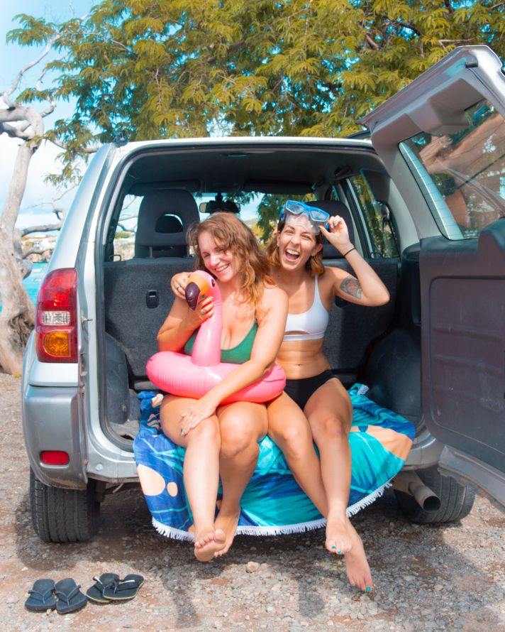Gabi and Shanna are 27 Travels, Lesbian Travel
