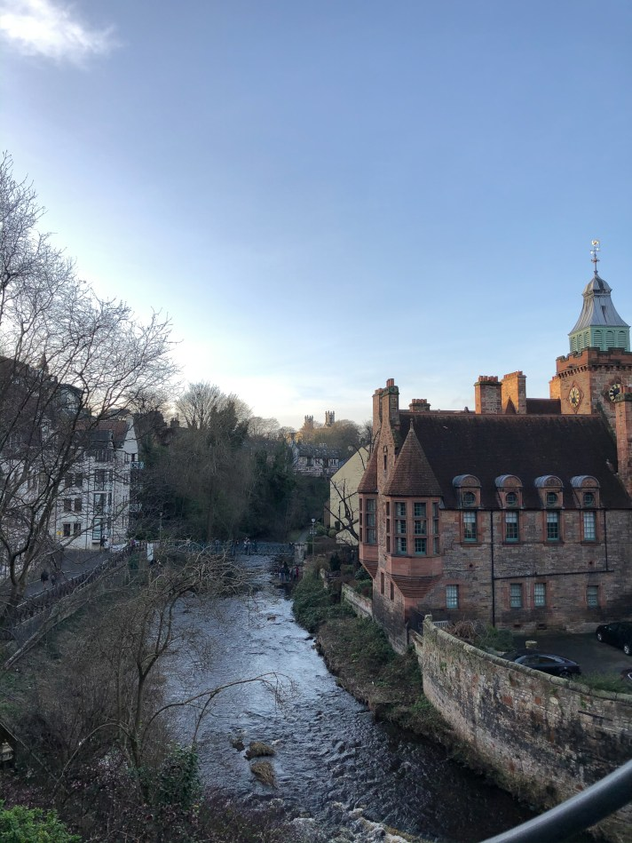Perfect picture spot: Dean Village in Edinburgh
