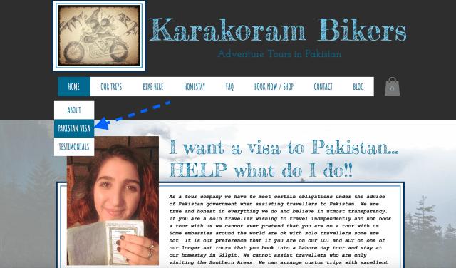 Karakom Bikers Visa