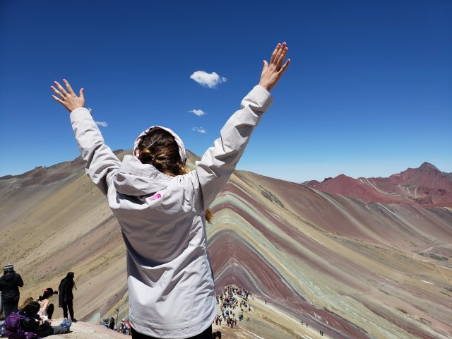 Rainbow Mountain Satisfaction