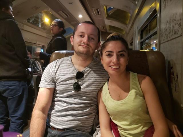 Ollanta to Cusco by train