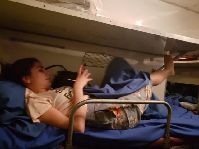 Inside Train 7