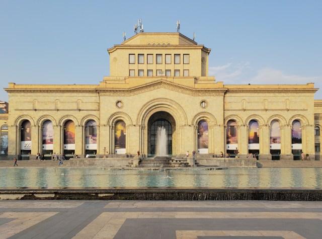 Yerevan plaza