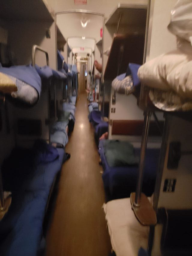 Inside Train 2