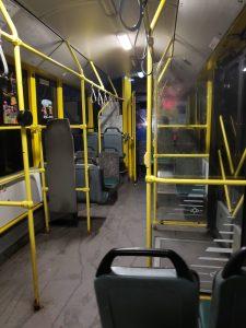 Kiev Tram Inside