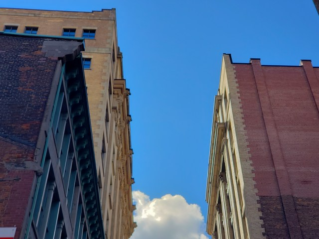 Old Town Montreal Sky