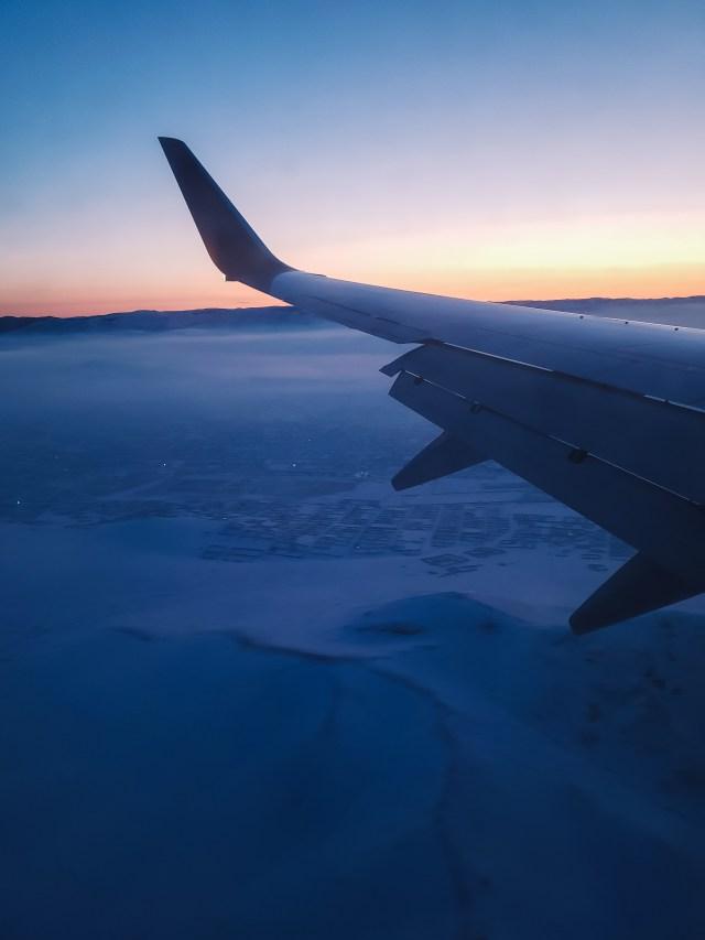 Airplane to Mongolia