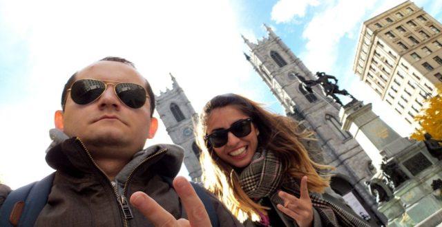 Notre Dame Shawn & Yagmur Outside