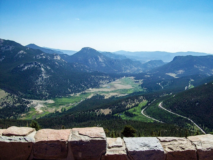 Once you hit about 10,500' elevation up into the Rocky Mountains you start to get some excellent views!