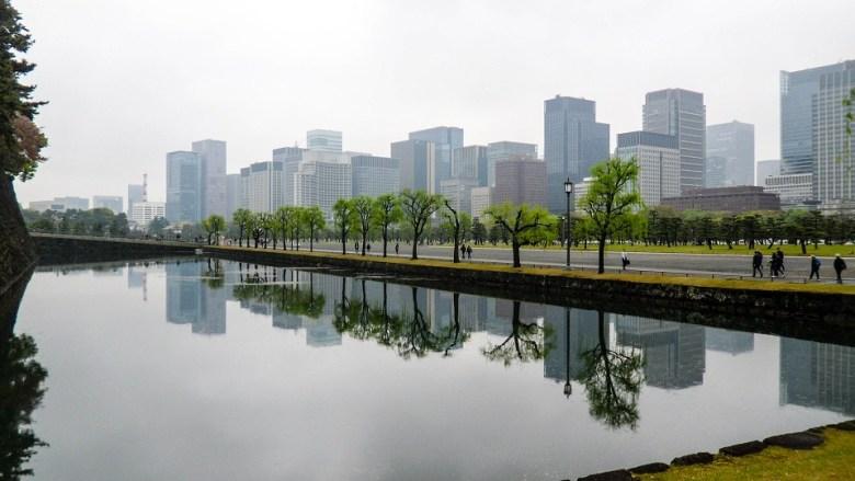 Tokyo mirror view