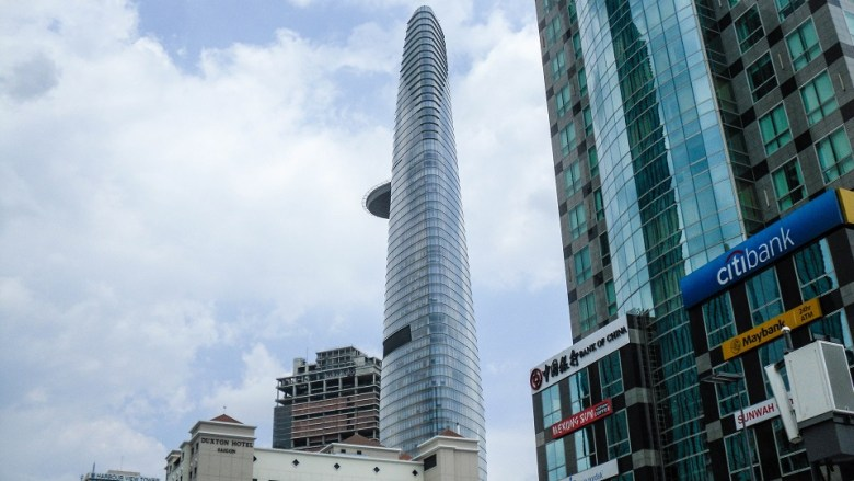 Bitexco Financial Tower in Ho Chi Minh City