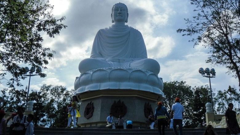 Long Son Pagoda Buddha