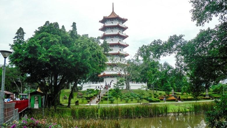 Chinese Garden Pagoda in Singapore