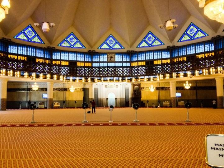 National Mosque of Malaysia in Kuala Lumpur
