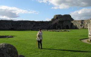 Pevennsey castle