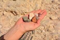אבנים בכל הצבעים