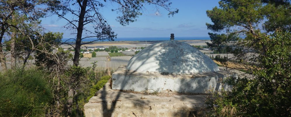 קבר שייח אמיר ותצפית על הים