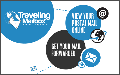 how to get mail while traveling