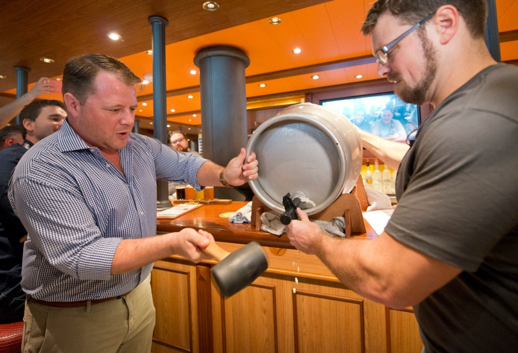 Parched Pig Carnival Cruise Line Horizon new ship beer debut