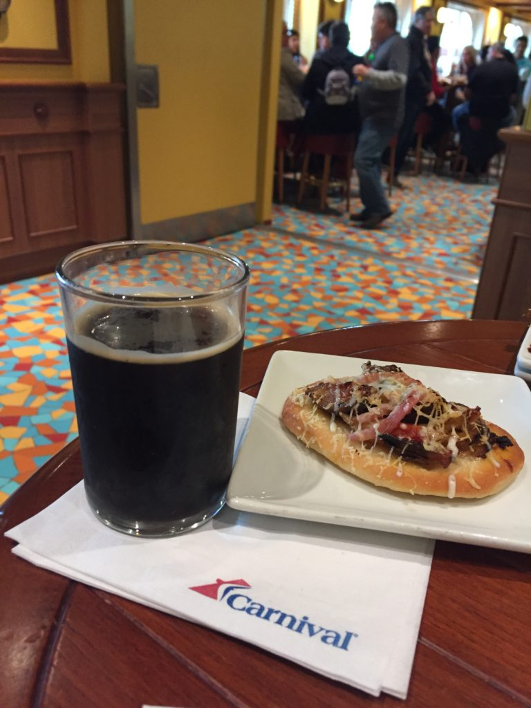 ParchedPig Smoked Porter to debut on Carnival Horizon