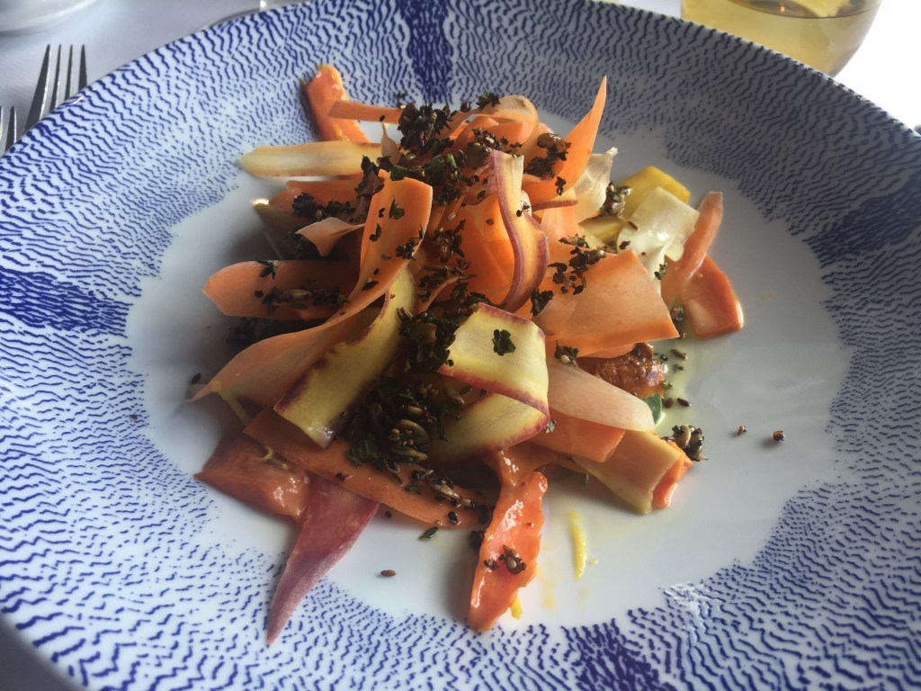 Roasted and Raw Carrot Salad by Elizabeth Falkner