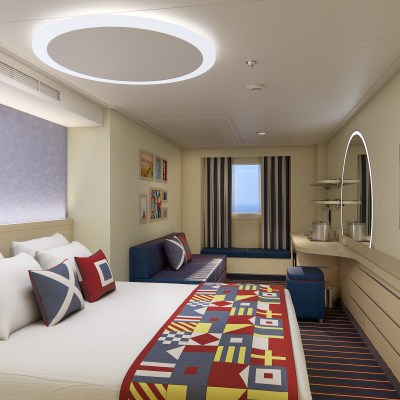 First Look at Carnival Mardi Gras Staterooms