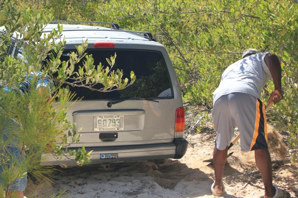 Bahamians Save the Day; Eleuthera Island, Bahamas; 2011