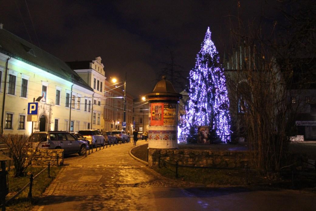 Christmas Tree; Krakow, Poland; 2011