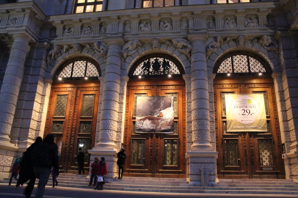 Museum Entrance; Vienna, Austria; 2011