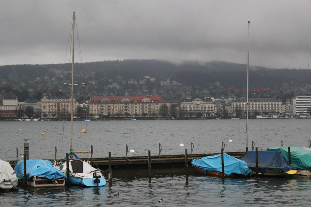 View of the Lake; Zurich, Switzerland; 2011